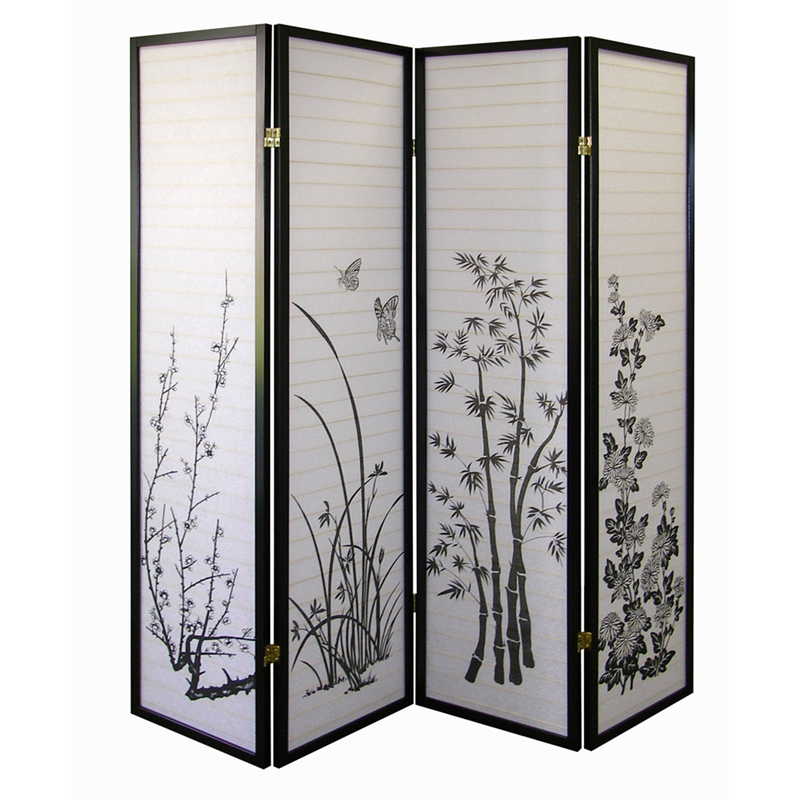 4panel Room Divider  Floral. Home Decor Collections. Cheap Living Room Furniture Set. College Graduation Party Decorations. Decorative Film. Manly Wall Decor. Classy Home Decor. Outhouses Bathroom Decor. Laundry Room Sink Cabinets