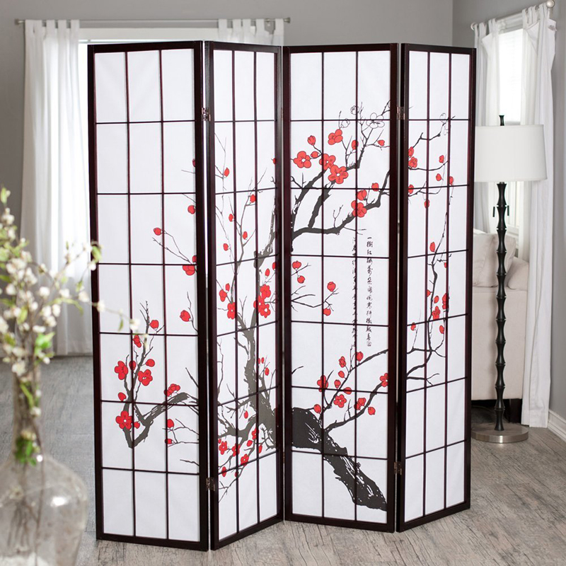 4panel Room Divider  Plum Blossom. Corner Dining Room Tables. Large Living Room Windows. Tiffany Blue Decorative Pillows. Decorative Rain Barrels. Room Difuser. College Wall Decor. Discount Luau Decorations. Dining Room Hanging Lights